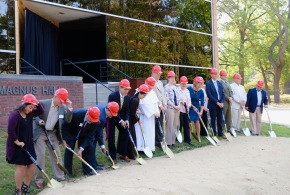 Work begins on Sr. Aquinas Weber Hall