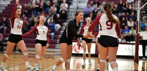Volleyball accomplishing great things as season winds down
