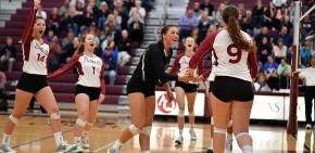 Volleyball accomplishing great things as season windsdown