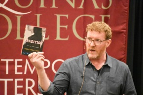 Words of a listening heart: Brendan Kiely participates in Contemporary WritersSeries