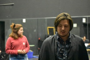 "AQ Theatre Prepares for ""Dracula"""