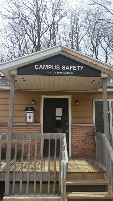 photo of the campus safety building