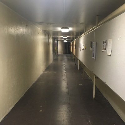 Photos from the tunnel in Dec. before its closure / Courtesy The Saint